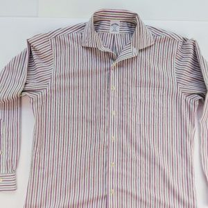 Brooks Brothers 346 Men's 16-4/5 Slim Fit Button